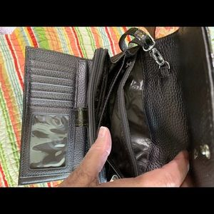 Brighton Bags - Brighton croco wallet/crossbody/organizer